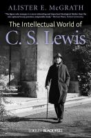 The Intellectual World of C.S. Lewis
