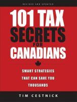 101 Tax Secrets for Canadians
