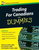 Trading for Canadians for Dummies