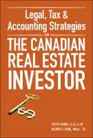 Legal, Tax, & Accounting Strategies for the Canadian Real Estate Investor