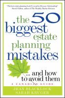 The 50 Biggest Estate Planning Mistakes-- and How to Avoid Them