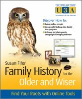 Family History for the Older and Wiser