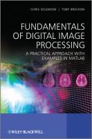 Fundamentals of Digital Image Processing