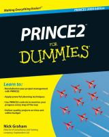 PRINCE2 for Dummies, Second Edition
