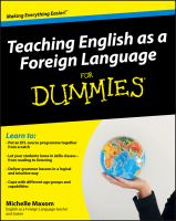 Image: Teaching English as A Foreign Language for Dummies