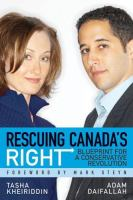 Rescuing Canada's Right