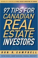 97 Tips for Canadian Real Estate Investors