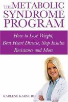 The Metabolic Syndrome Program