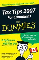 Tax Tips for Canadians for Dummies