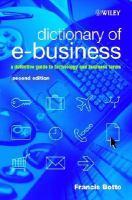 Dictionary Of E-business