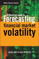 A Practical Guide for Forecasting Financial Market Volatility