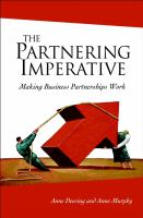 The Partnering Imperative