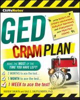 CliffsNotes GED Cram Plan
