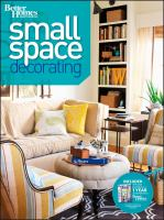 Small Space Decorating