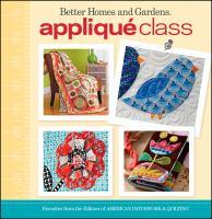 Appliqué Class