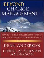Beyond Change Management