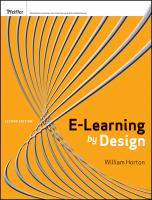 E-learning by Design, 2nd Edition