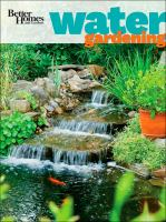 Better Homes and Gardens Water Gardening