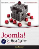 Joomla! 24-hour Trainer