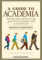 A Guide to Academia