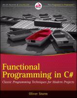 Professional Functional Programming in C#