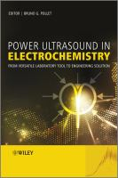 Power Ultrasound in Electrochemistry