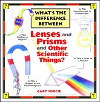 What's the Difference Between-- Lenses and Prisms and Other Scientific Things?