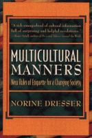 Multicultural Manners
