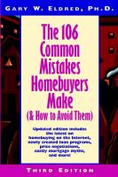The 106 Common Mistakes Homebuyers Make (& How to Avoid Them)