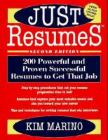 Just Resumes