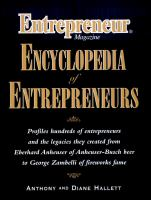 Entrepreneur Magazine Encyclopedia of Entrepreneurs