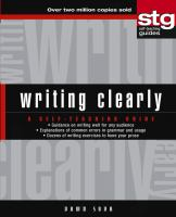 Writing Clearly