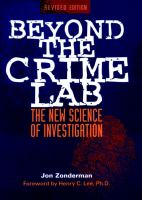 Beyond the Crime Lab