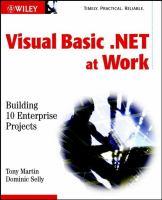 Visual Basic .NET at Work