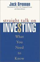Straight Talk on Investing