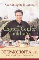 The Chopra Center Cookbook