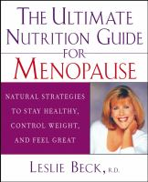 The Ultimate Nutrition Guide for Menopause