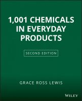 1001 Chemicals In Everyday Products