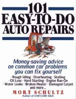 101 Easy-to-do Auto Repairs