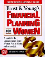 Ernst & Young's Financial Planning for Women