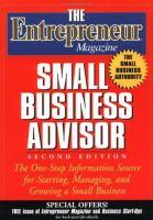 The Entrepreneur Magazine Small Business Advisor