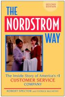 Nordstrom Way: The Inside Story of America's #1 Customer Service Company