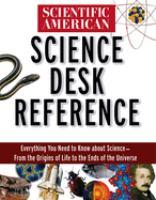 Scientific American Science Desk Reference