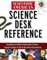 Scientific American Science Desk Reference