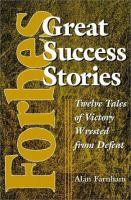 Forbes Great Success Stories