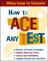 Image: How to Ace Any Test