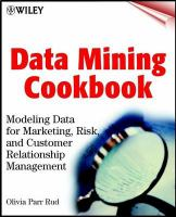 Data Mining Cookbook