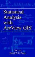 GIS And Statistical Analysis With ArcView