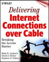 Delivering Internet Connections Over Cable