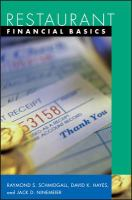 Restaurant Financial Basics